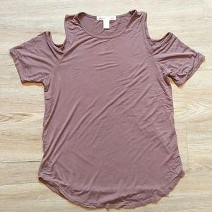Streetwear Society | Cold shoulder t-shirt